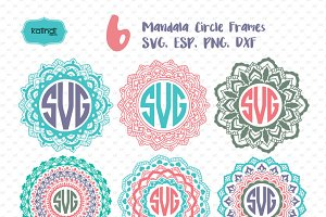 Mandala Monogram Set
