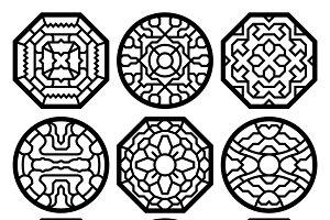 Chinese traditional vector ornament