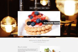 Lobster - Restaurant & Bar WordPress