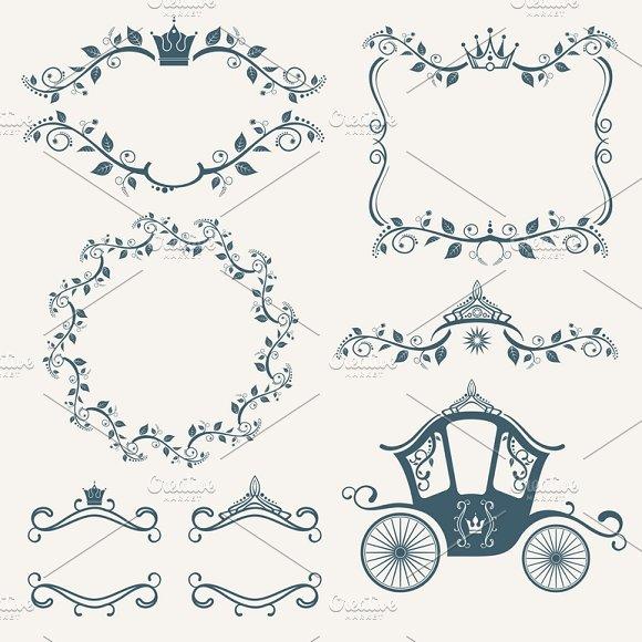 Vintage Royalty Frames Set