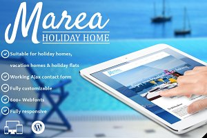 Marea - Hotel WordPress Theme