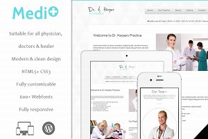 Mediplus - Medicine WordPress Theme