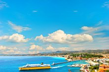 Nice City, France, French Riviera