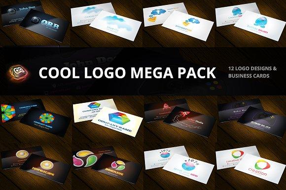Cool 12 Logo Pack