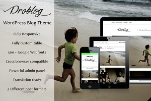 Problog - Blogger WordPress Theme