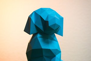 DIY Puppy 3D model template