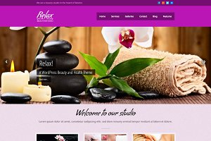 Relax - Beauty & Spa WordPress Theme