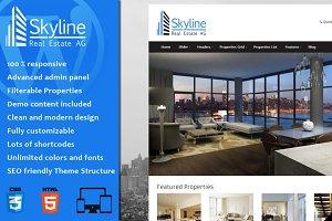 Skyline - Real Estate WordPress