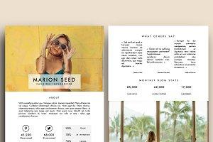 Blog Media / Press Kit Template