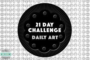 21 Day Challenge: Days Art