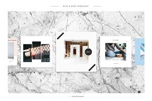 Instagram - Blog & Shop Templates
