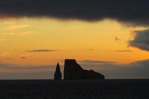 Kicker Rock sunset - Galapagos