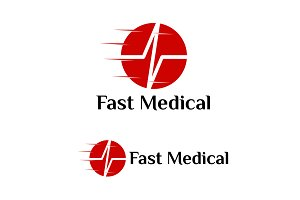 Fast Medical Logo Template Designs