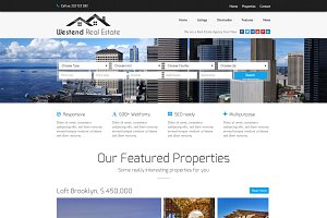 Westend-Real Estate WordPress Theme