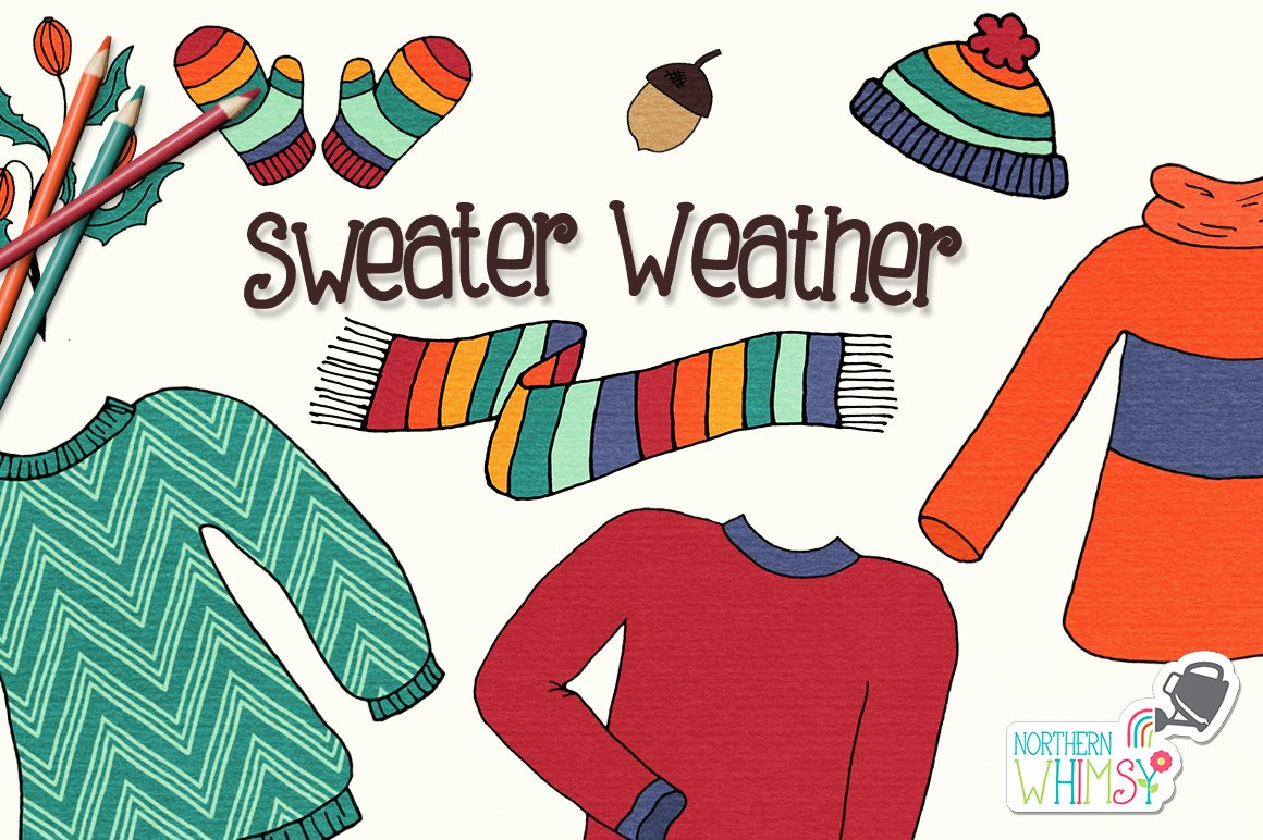 Fall Illustrations - Sweater Weather ~ Illustrations ...
