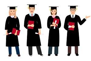 Student graduation set