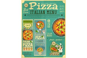 Pizza Italian Menu