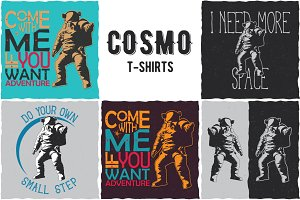 Cosmo Collection of T-shirt Designs