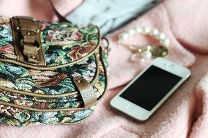 girl's belongings
