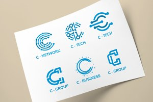 C - Initial Tech Logo Collection