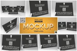 Desktop Calendar Mockup