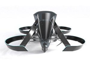 Toyota SkyDrive Drone Tax 3d model