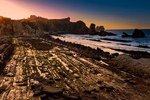 Arnia beach,magical beach.Santander.