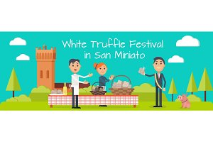 Festival of Truffle Festival in San Miniato Banner