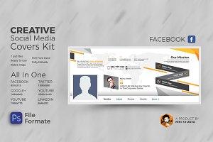 Creative Social Media Covers Kit