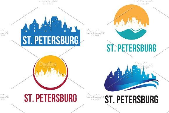 4 St. Petersburg City Landscape Logo