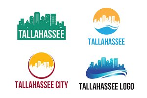 4 Tallahassee City Landscape Logo