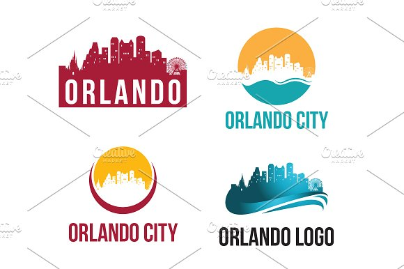4 Orlando City Landscape Logo