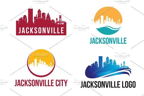 4 Jacksonville City Landscape Logo