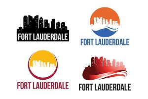 4 Fort Lauderdale City Logo