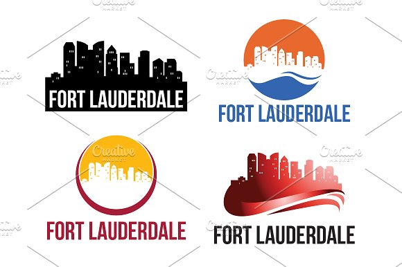 4 Fort Lauderdale City Logo