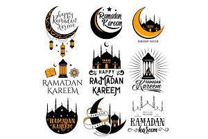 Vector illustration of islamic holy holiday Ramadan
