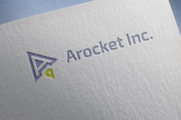 Arocket Inc. Logo in Logo Templates - product preview 2