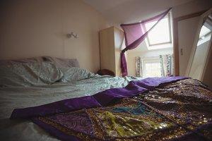 View of empty bedroom interior
