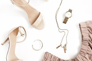 Feminine clothes and accessories