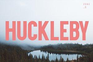 Huckleby | Vintage Sans Serif Family