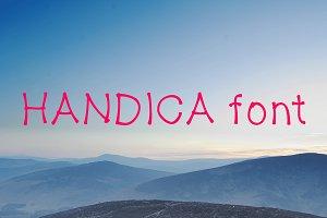 Handica font