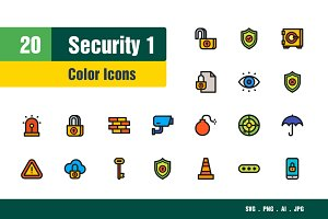 Security Icons #1