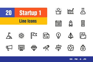 Startup Icons #1