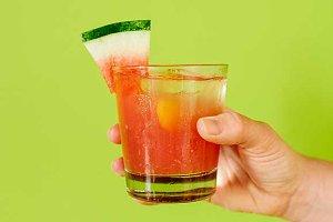 Watermelon Lime Margarita