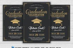 Graduation Celebration Flyer
