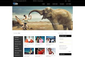 Nile - Free WordPress Magazine Theme