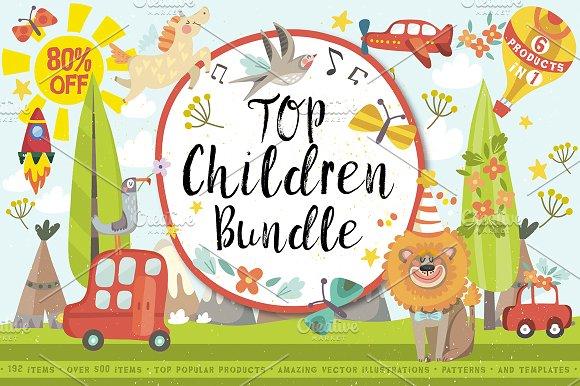 Top Children Bundle 80%OFF
