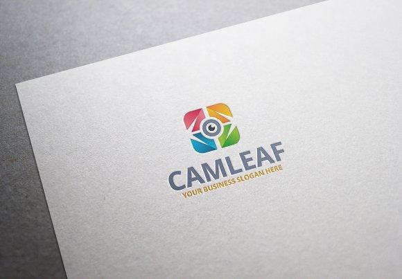 Cam Leaf Logo