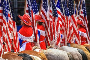 Rodeo on the 4th of July