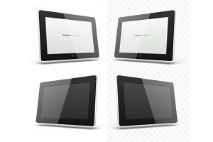 Mobile device hd tablet screen template
